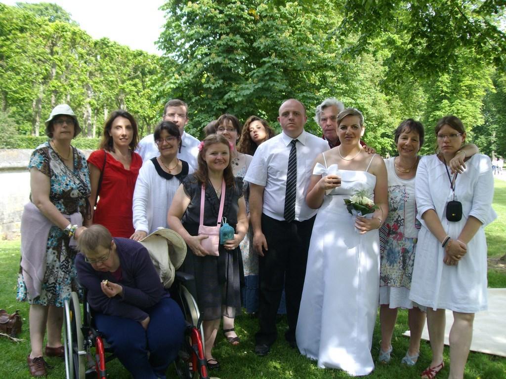 Foyer au Mariage d'amis