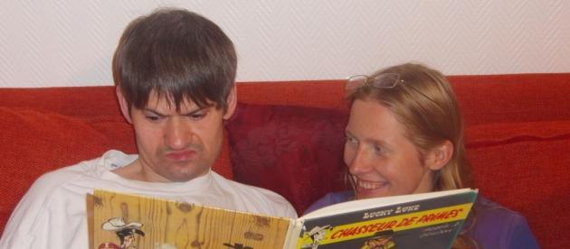Jean-Luc et Rosaria, en vacances à L'Olivier